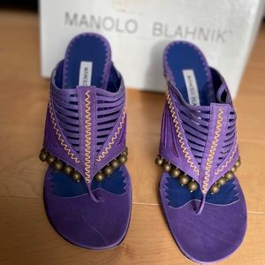 New Manolo Blahnik Heeled Shoes